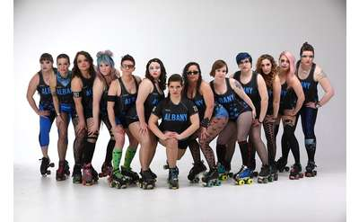 Roller Derby Group Photo