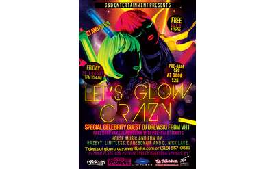Let Glow Crazy Poster