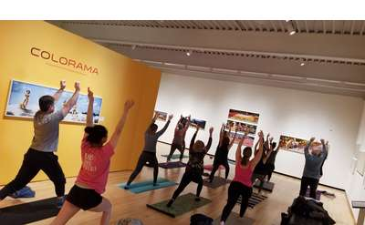 Art and Yoga Event Photo