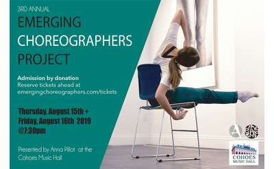 Emerging Choreographers Project Banner
