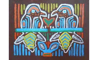 Molas Painting Example