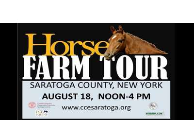 Horse Farm Tour event poster