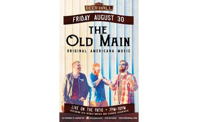 The Old Main Live on the Patio!
