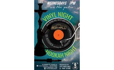 Hookah & Vinyl Night
