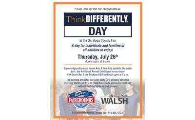 ThinkDIFFERENTLY Day @ Saratoga County Fair!