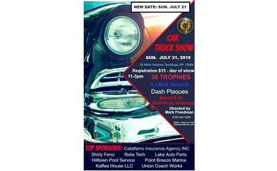 American Legion Car Show Poster