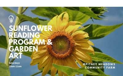 Sunflower Reading Program Banner