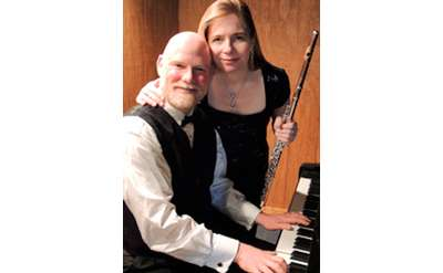 couple with piano and clarinet