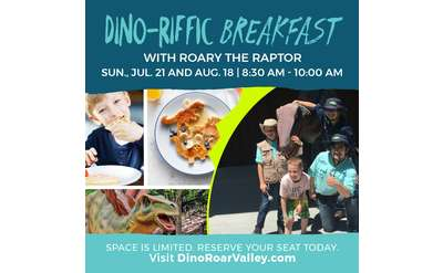 Dino-Riffic Breakfast Banner