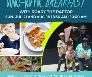 Dino-Riffic Breakfast Banner