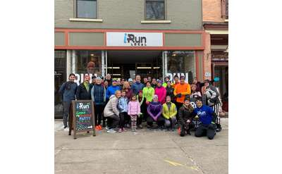 Running Group Photo