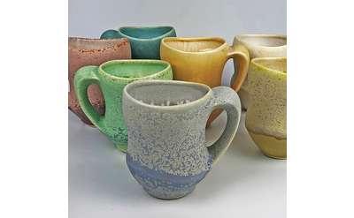 Mugs by Gwendolyn Yoppolo