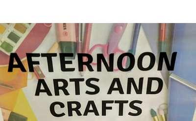 Arts and Crafts at Hudson Falls Free Library