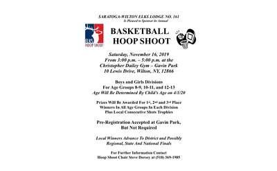 basketball hoop shoot poster