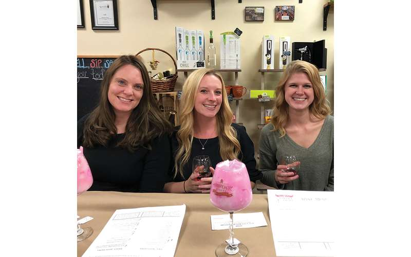 Wine Glass Candle Making