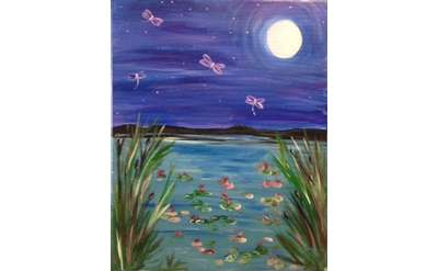 Dragonfly Pond Paint Class