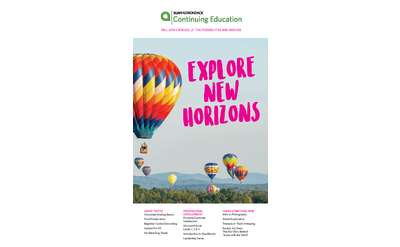 Fall 2019 Brochure Cover