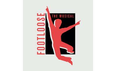 footloose the music poster