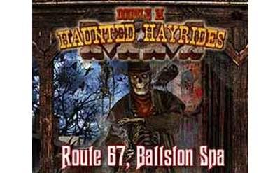 haunted hayrides logo