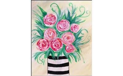 preppy floral