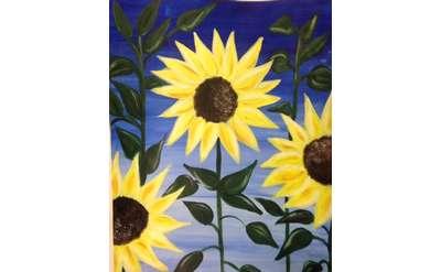 Sunflowers Paint Event