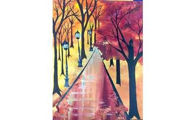 Autumn Bliss Paint & Sip