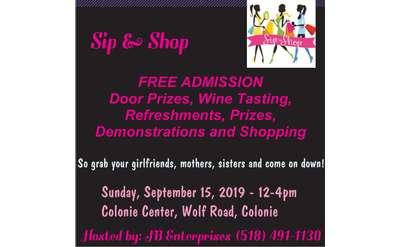 Sip & Shop Invite