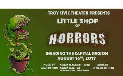 TCT Little Shop of Horrors Flyer