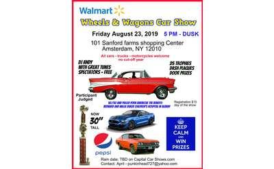 Wheels & Wagons Car Show
