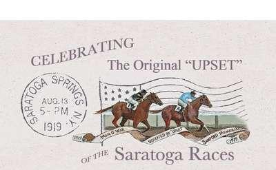 Celebrating Upset Banner
