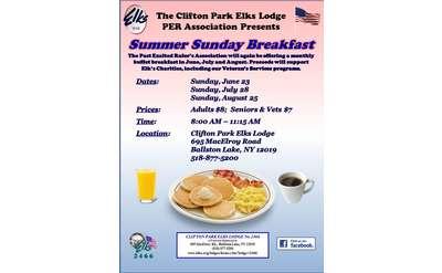 Elks Breakfast Flyer