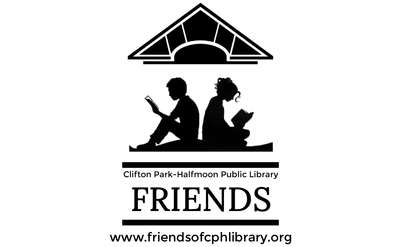 Friends of the Clifton Park-Halfmoon Library Logo