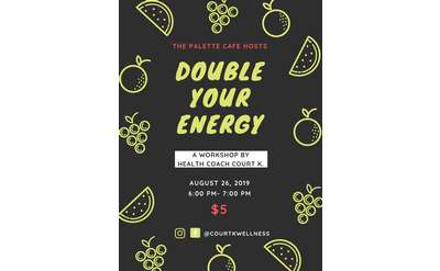 Double Your Energy with Court K