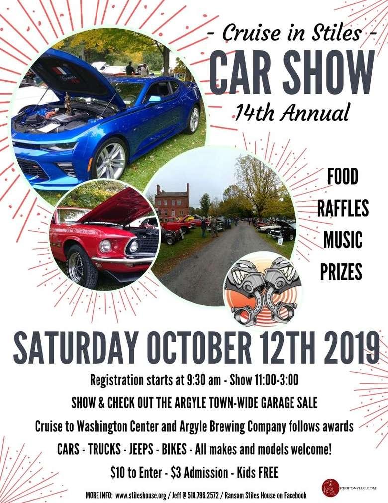 2019 Stiles House Car Show Flyer