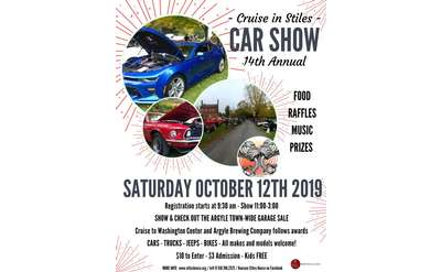 2019 Stiles House Car Show Flyer