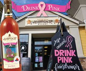 drink pink event promo