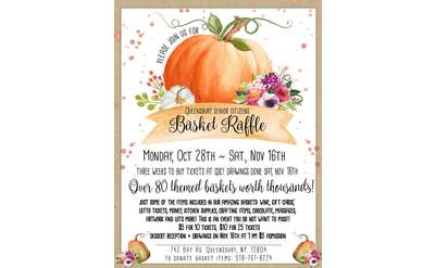 Basket Raffle Flyer