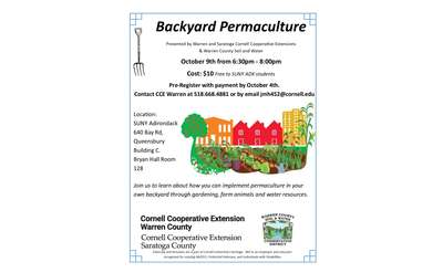 Backyard Permaculture Flyer