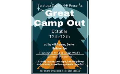 Great Camp Out Poster