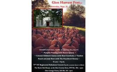 Glen Harvest Fest Poster