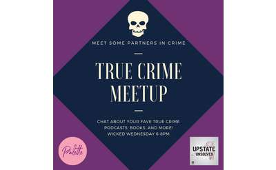 True Crime Meetup at Palette featuring Phoebe LaFave