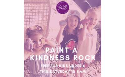 Paint a Kindness Rock at Palette