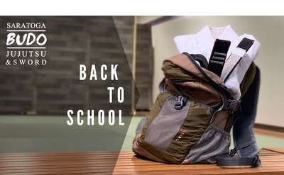 back to school promo image for saratoga budo