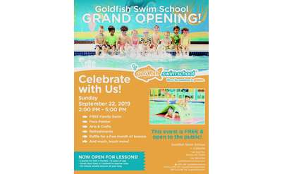 Goldfish Swim School Colonie FREE Grand Opening Party!