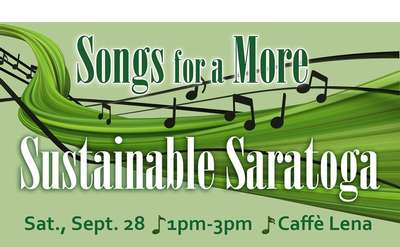 songs for a more sustainable saratoga promo