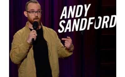 Andy Sandford at Proctors October 26
