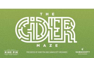 The Cider Maze at Samascott Orchards on October 25 2019