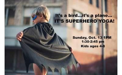 superhero kids yoga