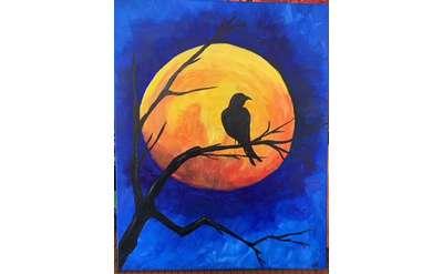 Midnight Moon Paint & Sip