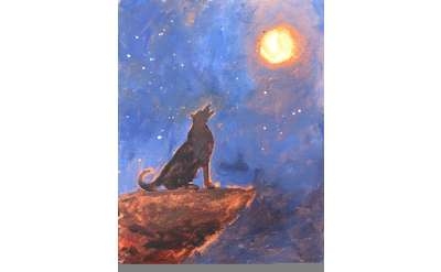Howling At The Moon Paint & Sip